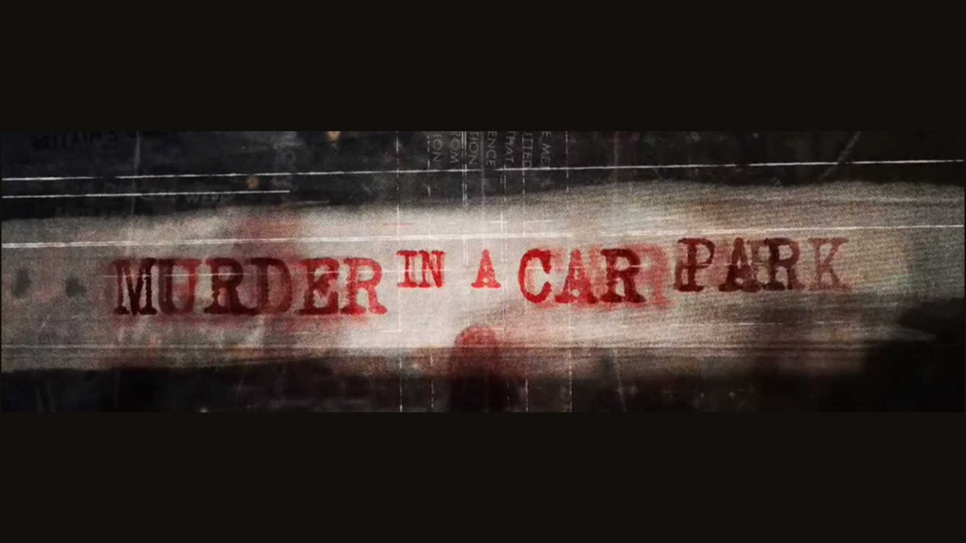 Murder in the Car Park
